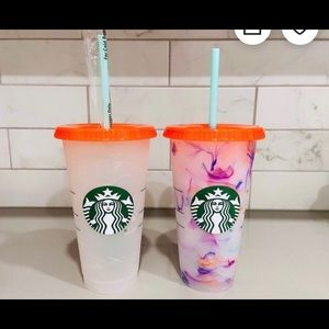 Starbucks Summer Limited ed. colour changing cup